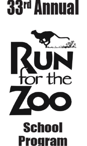 Join us at the Run for the Zoo on May 6, 2018 runforthezoo.org